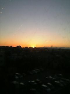 下町の夕焼け