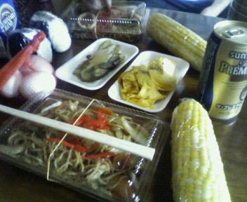 本日のお昼ごはん@酸ケ湯自炊部
