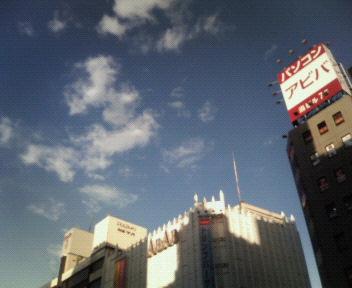 上野広小路にて。