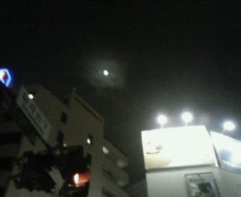 今夜の月@神保町