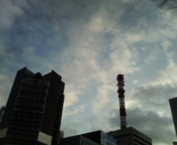 今日の空@銀座