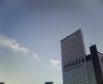 今日の空@新宿