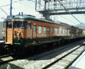 今日の電車@中之条