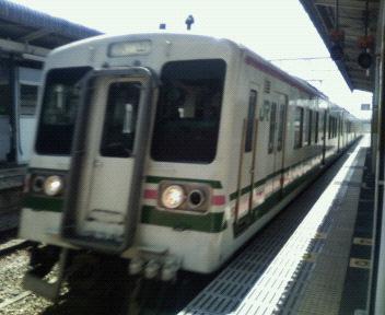 今日の電車@新前橋