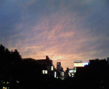 夕焼け小焼け@飯田橋