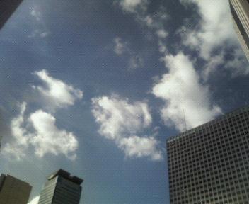 今日の空@虎ノ門