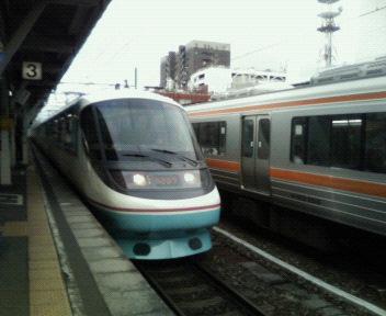 本日の電車