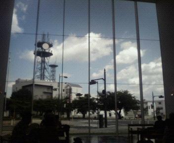 今日の空@十和田市現代美術館