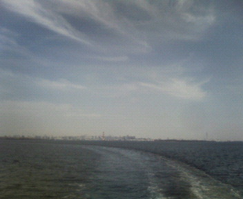 今日の空@東京湾
