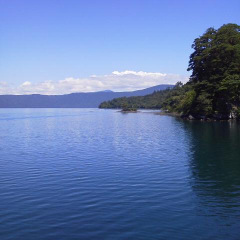 今日の空@十和田湖