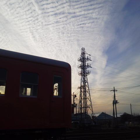 昨日の空@なかみなと駅
