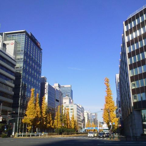 日曜日の空@京橋