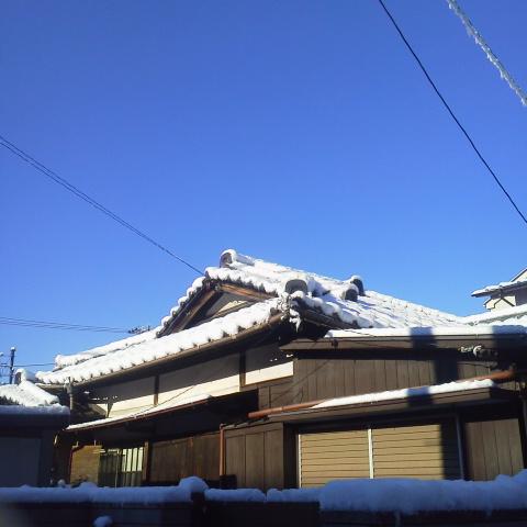 今朝の空@近所