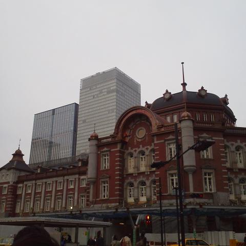 新しい(古い)東京駅